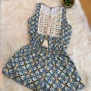 EUC Sleeveless Romper